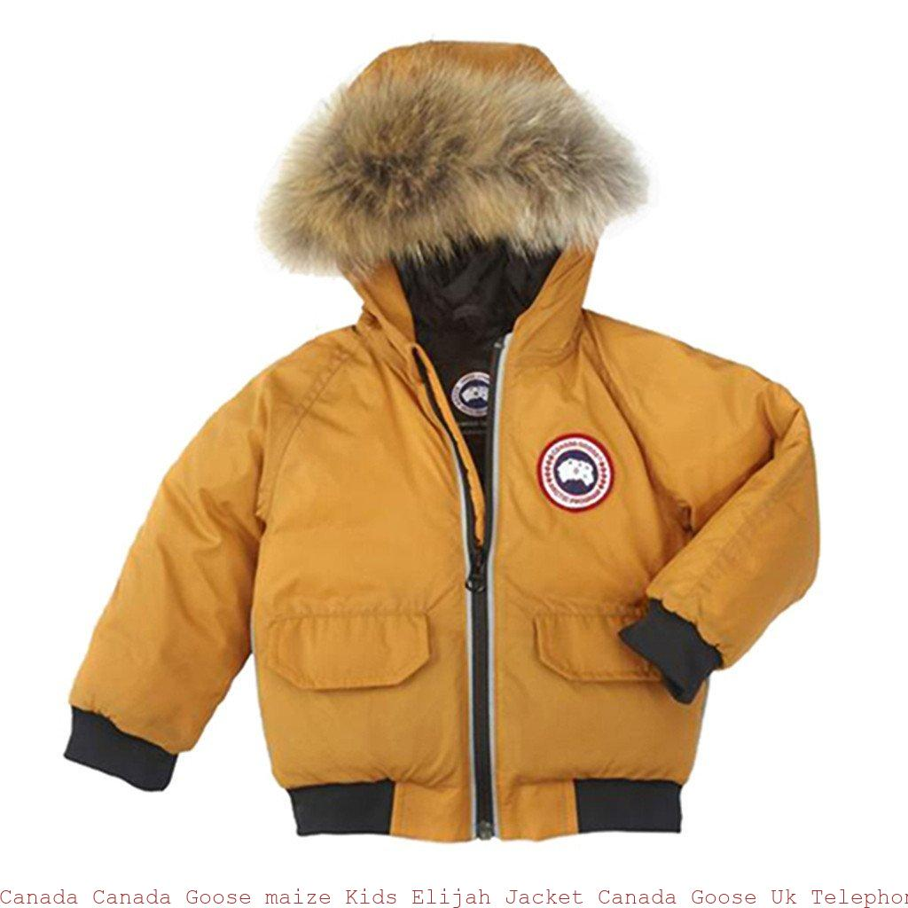 7f0dac1f7 Canada Canada Goose maize Kids Elijah Jacket Canada Goose Uk Telephone  Number 6605133637