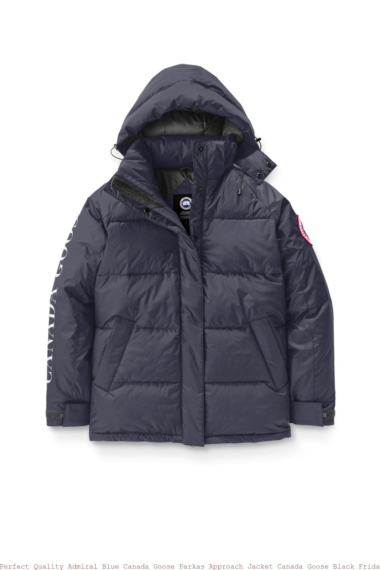 Perfect Quality Admiral Blue Canada Goose Parkas Approach