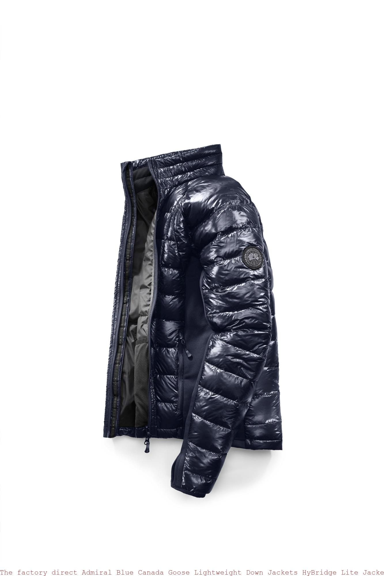 7373a1e6594 The factory direct Admiral Blue Canada Goose Lightweight Down Jackets HyBridge  Lite Jacket Black Label Cheap Canada Goose China 2701MB